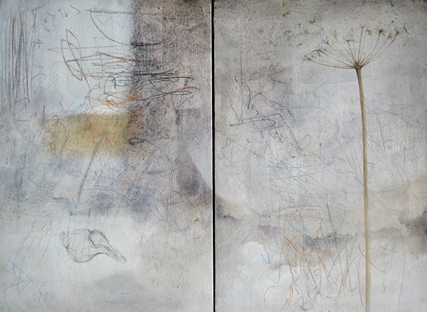 winter drawing : diptych