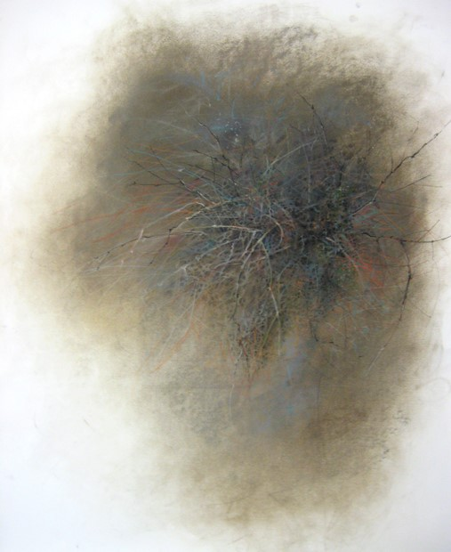 dust drawing : witches knot