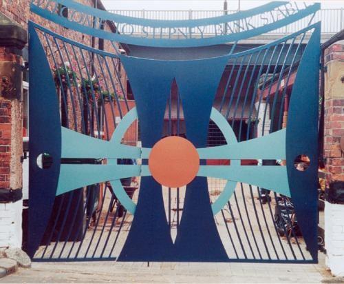 Stepney Bank Stable Gates