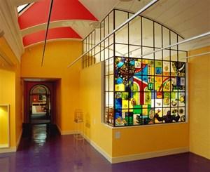 Wolverhampton Art Gallery Tea room, by Sue Woolhouse