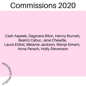 New Commission 2020 awarded by Procreate Project, by Henny Burnett