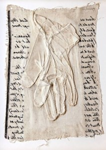 100 Language Gloves (detail), by Henny Burnett
