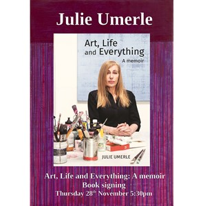 Book signing at Waterstones Walthamstow, by Julie Umerle