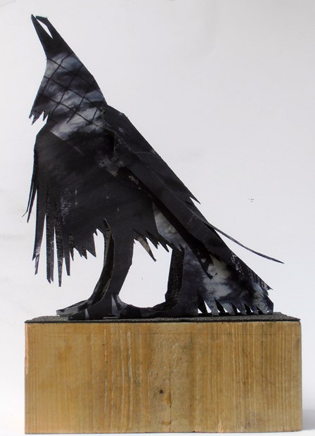 Tower Raven calling