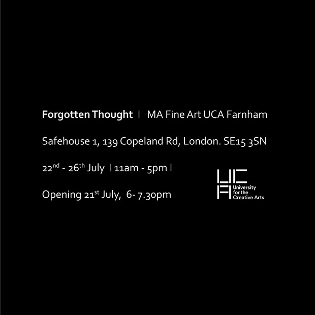 Forgotten Thought, by Liz Clifford