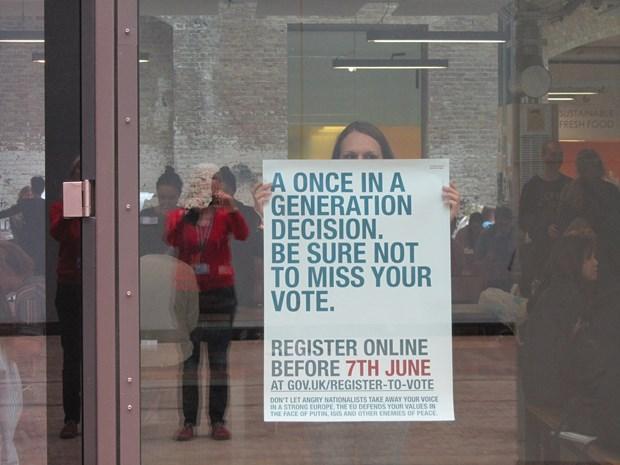 Eu referendum poster event 2016