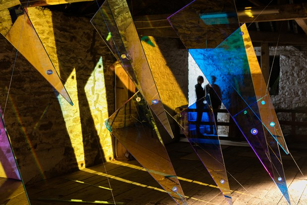 En-Lighten - an exploration of light and sensation at Cheeseburn Sculpture Park