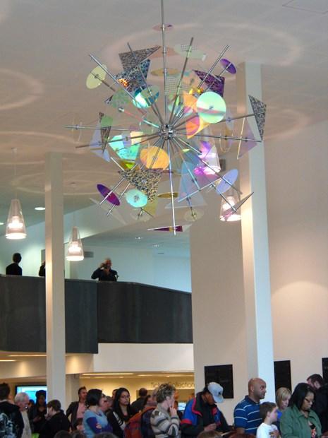 Rotating Sculpture, MAC Birmingham
