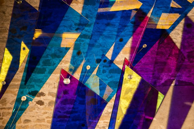 En-Lighten - an exploration of light and sensation at Cheeseburn Sculpture Park