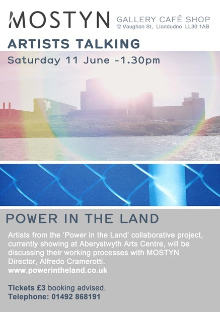 Power in The Land Artists Talk at Oriel Mostyn