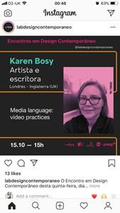 Seminar Project and Encontro em Design Contemporaneo @ labdesigncontemporaneo, by K M Bosy