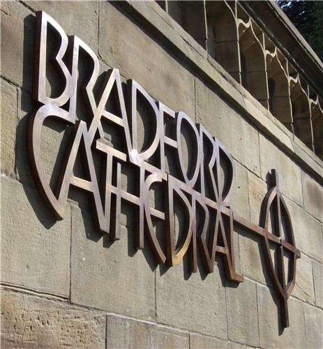 Bradford Cathedral Signage