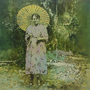 Woman with Parasol, by Annette Pugh