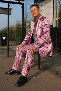 Nottingham Conversation suit - Conversation piece project, by Tom Hackett
