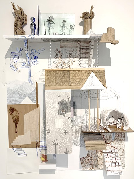 Shortlisted for the Trinity Buoy Wharf Drawing Prize