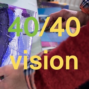 40/40 Vision., 40 years of WASPS studios, by Shelagh Atkinson
