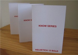 KNOW SERIES TEXT BOOKLETS, by Shelagh Atkinson