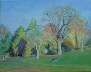 Springtime, Lauriston Gardens, by Carolyn Burchell