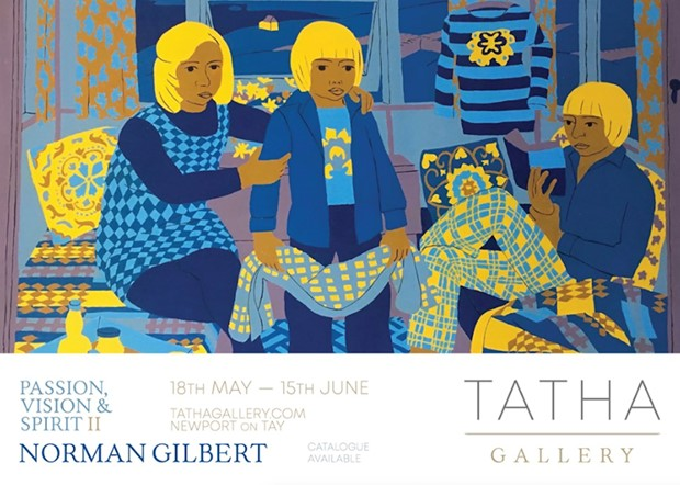 Norman Gilbert: Solo exhibition, Tatha Gallery