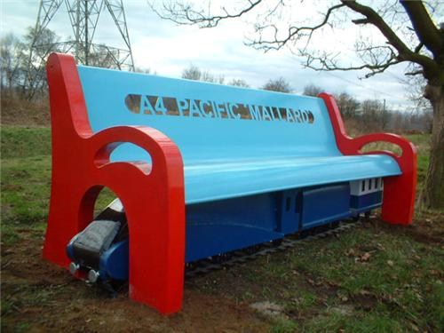 Tunnel Bench- Mallard