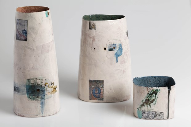 Vases from 'Souvenir from Europe' series