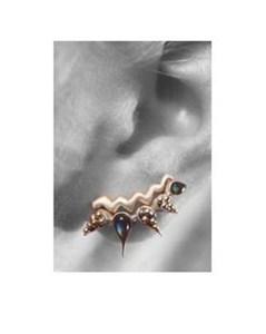 Labradorite earring, by Pamela Dickinson