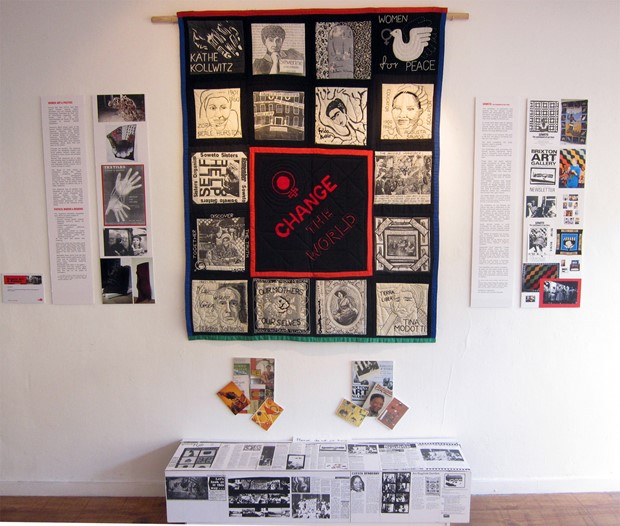 Brixton Calling! - Credit: More or Less, installation, Teri Bullen with the 198 women group.