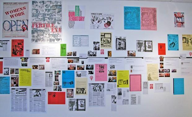 Brixton Calling! - Credit: BAG WOMEN, installation by Françoise Dupré, Rita Keegan and Women's Work