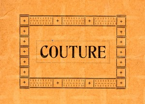 Couture, by Francoise Dupre
