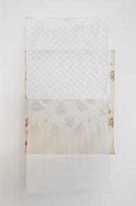 Courtepointe en Indienne avec papier à fleurs, by Francoise Dupre