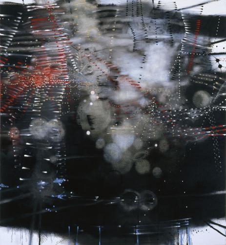 Black Painting (Star)