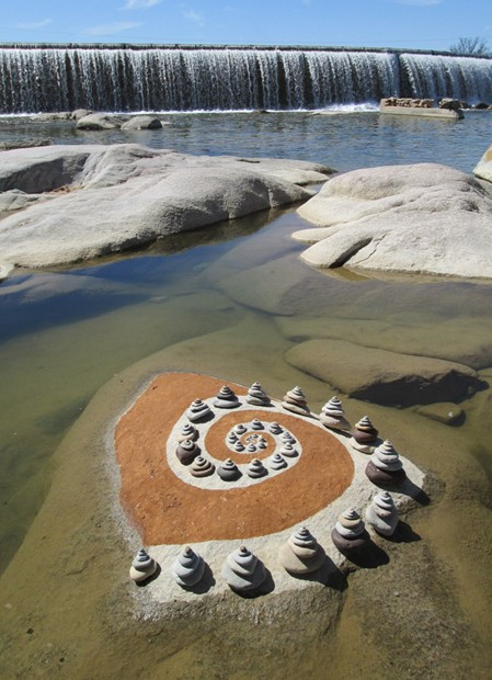 """Llano Sediment Spiral """