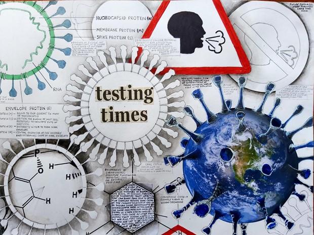 """Testing Times"".(detail)."