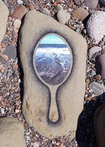 Sea Reflection, by Tim Pugh