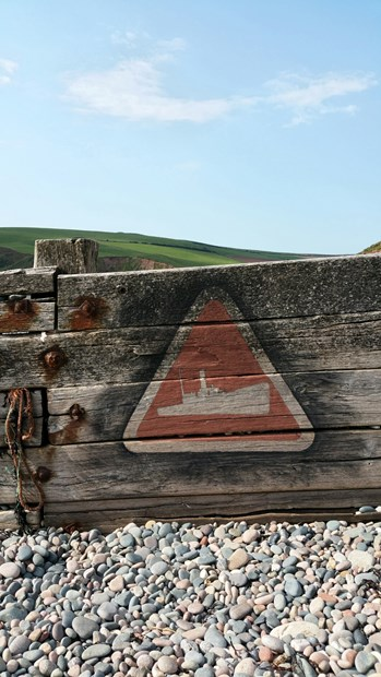 """Warning....Shipwrecks ahead!"""