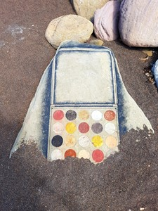 """Beach Pigment  Make-Up Palette "", by Tim Pugh"