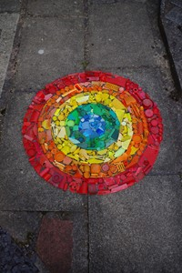 """Tideline Colourwheel"", by Tim Pugh"
