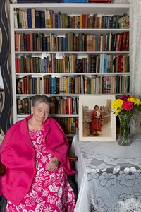 Betty Pattinson, Historian and Conwy ex-Town Mayor, by Graham Hembrough