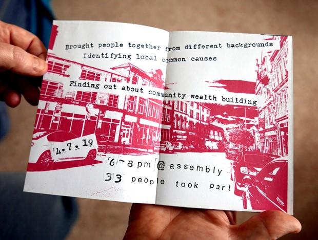 Bradford Breakfast Club Zine - Credit: Sarah Spanton