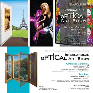International Optical Art Show, by Paul Critchley