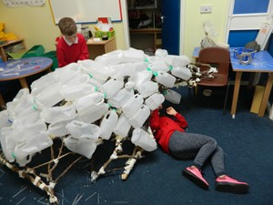 LCSS Cluster Schools Llanelli Recycling and Environmental Art Project, by David Lloyd