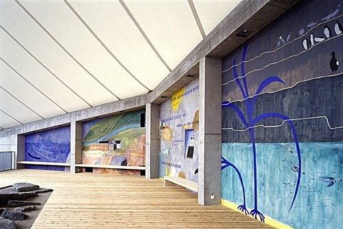 PuffinHall Mural