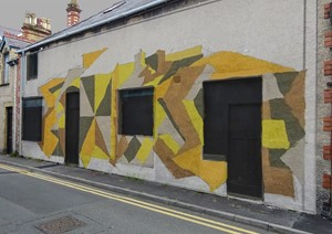 Llawn Festival Mural Project 2019, by Andrew Smith