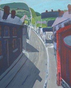 Nantgarw Road, by Philip Watkins