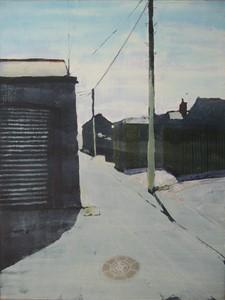 Back Lane, by Philip Watkins