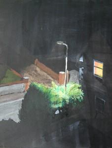 Street, night, by Philip Watkins