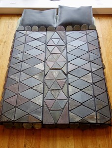 The Slate Quilt Bed, by Marged Pendrell