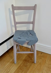 Hard and Soft Chair, by Marged Pendrell