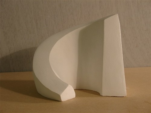 Uphill - study for a stone carving