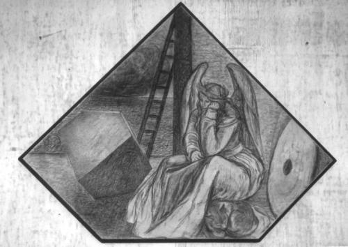 The Millstone I (After Dürer)